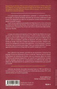 4eme couv Libération des femmes, quarante ans de mouvement